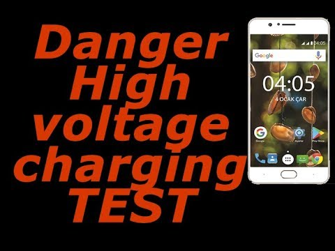 I gave high voltage to phone C5 Xpower