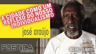 """Manifesto """"Meu Rio Está Morto"""" por José Araújo"""