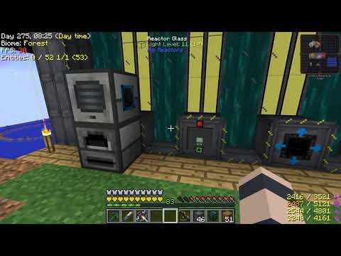 Minecraft - Project Ozone 2 #61: Big Big Reactor