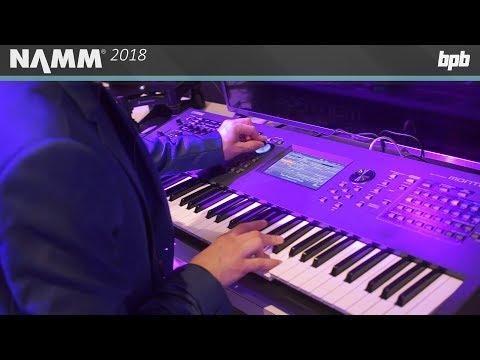 Yamaha MONTAGE OS Version 2.0 @ NAMM 2018