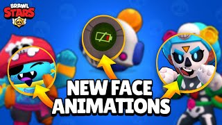 New Animated Faces in Brawl Stars | Nani, Rosa Gene & More #GoldArmGang