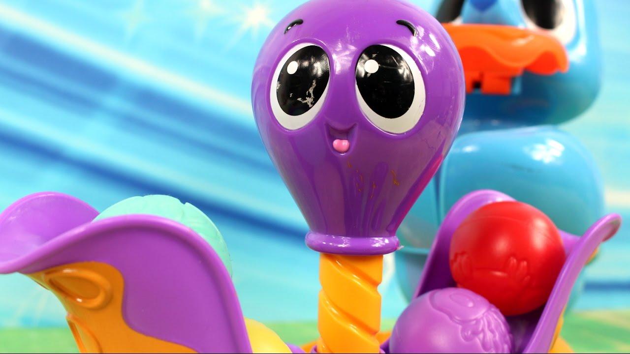 Ośmiorniczka i foczka  Little Tikes  Bajki dla dzieci  YouTube -> Kuchnie Dla Dzieci Little Tikes