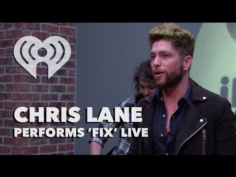 "Chris Lane - ""Fix"" (Acoustic) | iHeartRadio Live"