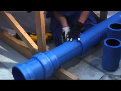 Предварительно изолированная система вентиляции Uponor.