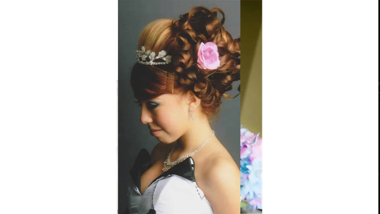 curly hairstyles for quinceaneras - youtube
