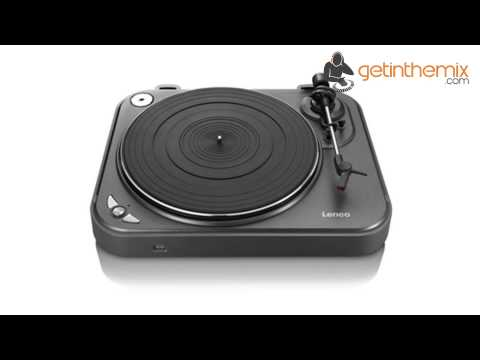 Lenco L-83 USB Turntable Record Player - Convert your vinyl to MP3