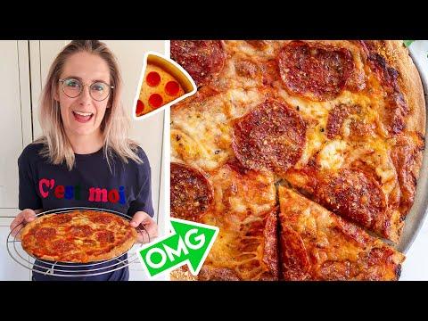 Gluten Free Pizza Base/Dough Recipe �� 3-Ingredients, No yeast, low FODMAP