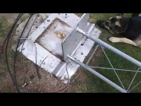 Ham Radio Tower Install