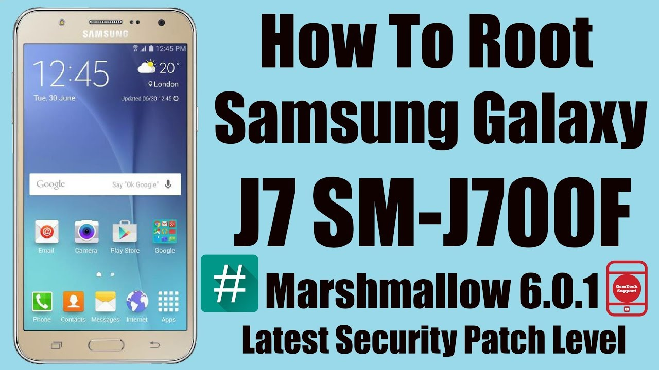 How To Root Samsung Galaxy J7 SM-J700F | Latest Build Marshmallow 6 0 1