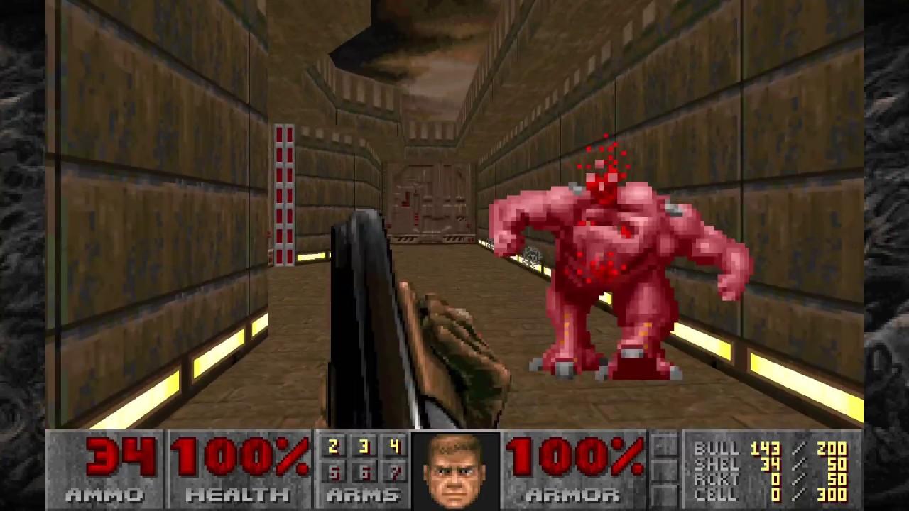 DOOM 2: Master Levels | PS4 Gameplay (UV)