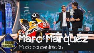 Marc Márquez tiene temperamento, superstición y sangre caliente al concentrarse - El Hormiguero 3.0