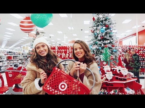 CHRISTMAS PRESENT SHOPPING AT TARGET