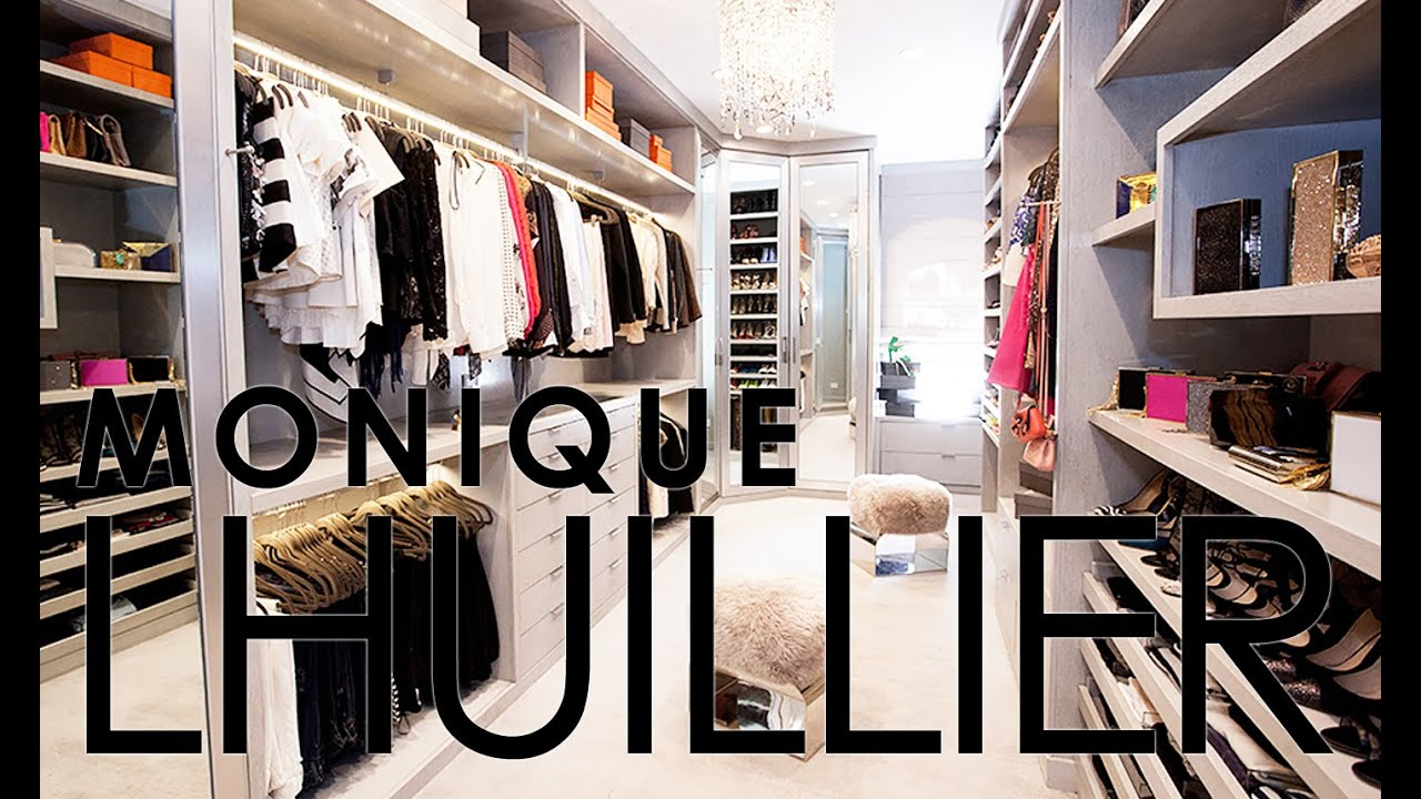 Celebrity Closets With Lisa Adams / Monique Lhuillier Closet Slideshow    YouTube