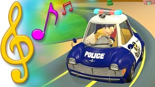 TuTiTu Songs | Police Car Song | Songs for Children with Lyrics