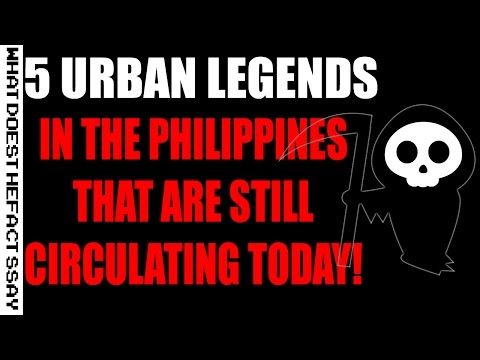 5 Urban Legends in the Philippines that are still circulating today!