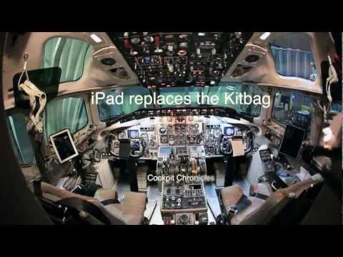 American Airlines Pilots Lose 40lb With Apple iPad Electronic Flight Bag
