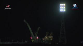 Трансляция запуска космического корабля «Союз МС-12»