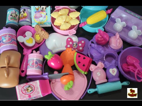 Minnie Bowtastic Kitchen Accessory Set Fun Cooking and ...
