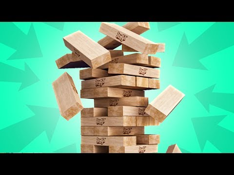 THE FUNNIEST JENGA GAME EVER!!!