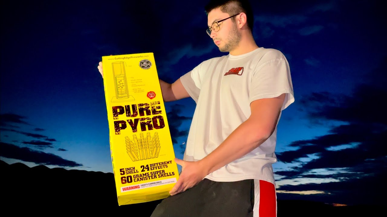 PURE PYRO FIREWORK CANISTER SHELLS (OMG)