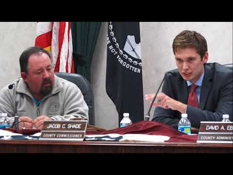 Allegany County Board of County Commissioners Public Meeting - October 26, 2017