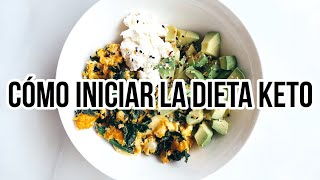 ⭐ DIETA KETO PARA PRINCIPIANTES | QUÉ ES LA DIETA KETO |  KETO DIET FOR BEGINNERS | Manu Echeverri