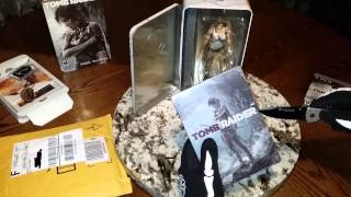 TOMB RAIDER STEELBOOK UNBOXING!