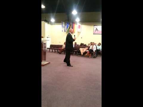 Pastor Raymond Berry