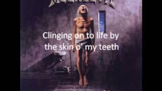 Megadeth-Megadeth skin o