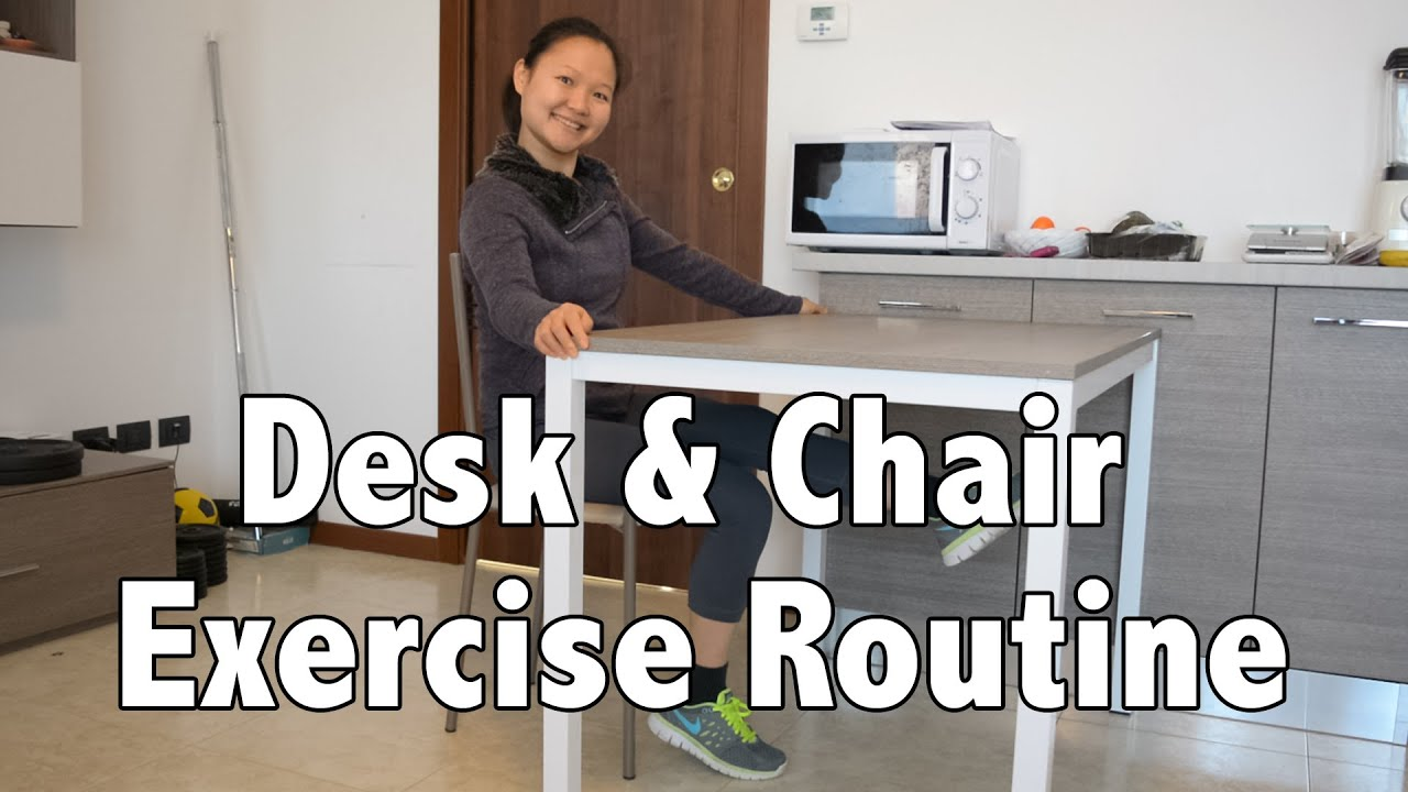 Office Chair Exercises Office Desk And Chair Exercise Routine For Weight Loss