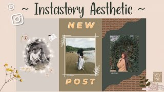 "Download Instastory Ideas ""Aesthetic"" with IG App only - Edit by Siti Rahma Fitri Yani"