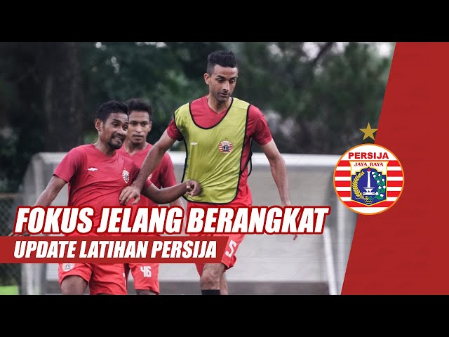 Kembali Fokus Latihan Jelang OTW Malang | Update Latihan Persija Jakarta
