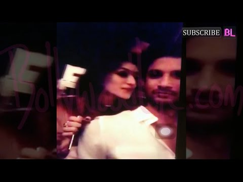 Thumbnail: Sushant Singh Rajput and Kriti Sanon's intimate video LEAKED