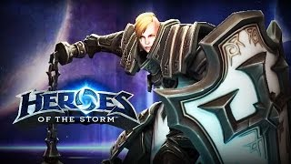♥ Heroes of the Storm (Gameplay) - Johanna, Best Tank NA (HoTs Quick Match)