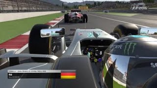 F1™ 2016 Spanish GP | P4 Finish | Disappointing Time Penalty | Manual Shifting