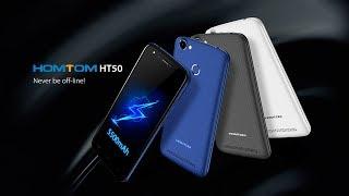 Homtom HT50 - Лучший бюджетник с аккумулятором 5500 мАч | Большой дисплей 5,5' и качественная камера