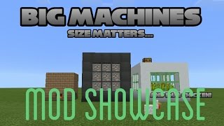 Bigmachines Mod!|MCPE Mod showcase