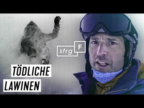 Snowboard und Ski: Wie gefährlich ist Tiefschnee?   STRG_F