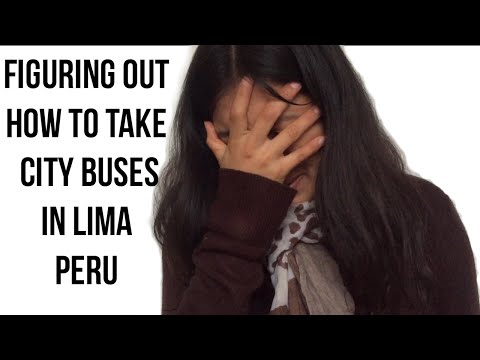 Info that will help YOU take take city buses in Lima, Peru (Video 42)