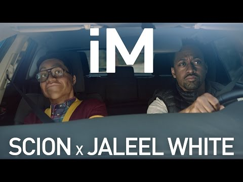 Jaleel White and Wax Museum Steve Urkel ft. the Scion iM