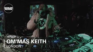 Om'mas Keith Boiler Room DJ Set and LIVE PA
