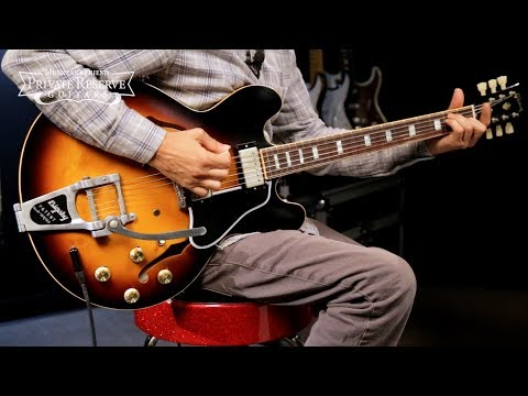 Gibson Limited Run VOS ES-335 Semi-Hollow Electric Guitar w/ Anchor Stud Bigsby