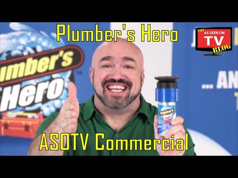 Plumber's Hero As Seen On TV Commercial Buy Plumber's Hero As Seen On TV Drain Unclogger