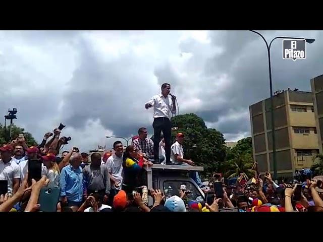 """Juan Guaidó asegura desde el estado Lara que Maduro """"saldrá de una vez por todas"""""""