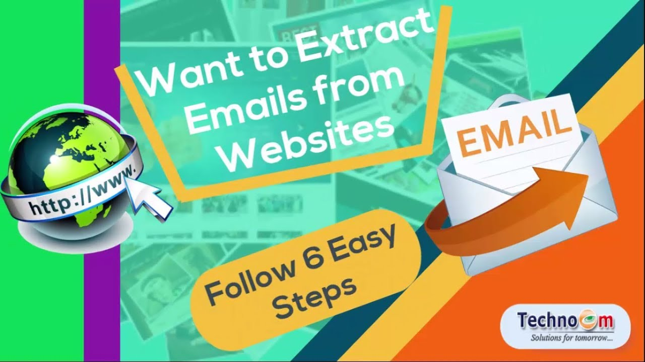 how to extract emails from a website