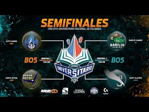 Loto Gaming (UNAL) vs Sorye GeTon (UDEA) - Semifinales CUN