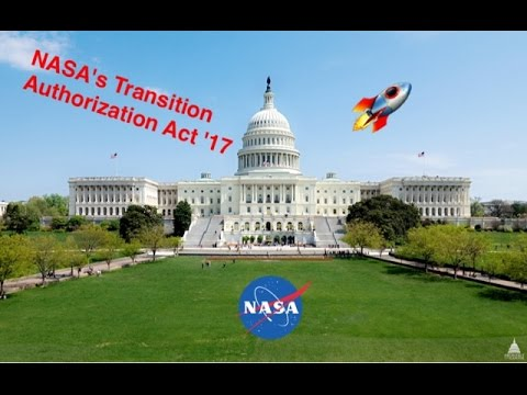 NASA's Authorization Act '17
