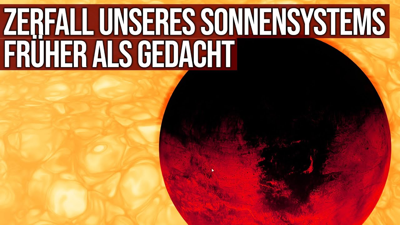 Zerfall unseres Sonnensystems früher als gedacht