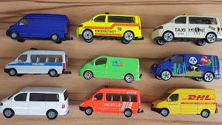 Sprinter Cars for Kids review DHL, Police, Texi, with Dlan