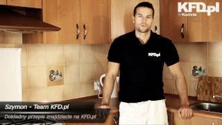 Sałatka Gyros (warstwowa) - Przepis - Kuchnia KFD.pl
